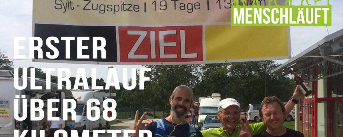 MENSCHLÄUFT–Deutschlandlauf 2017, Etappe 16 von Dornstadt nach Memmingen