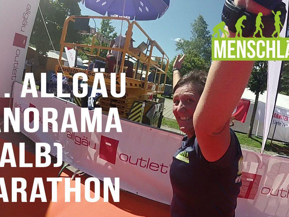 MENSCHLÄUFT, Allgäu Panorama Marathon –Biene finished ihren ersten offiziellen Halbmarathon